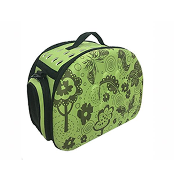 Transportin para mascotas modelo Eva verde