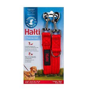 Mascotienda-Halti-training-lead roja