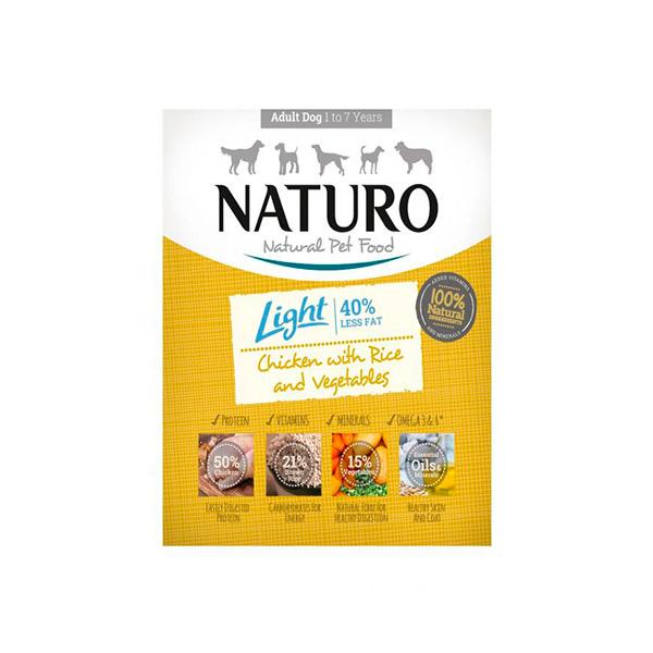 Mascotienda Naturo Light chicken&rice