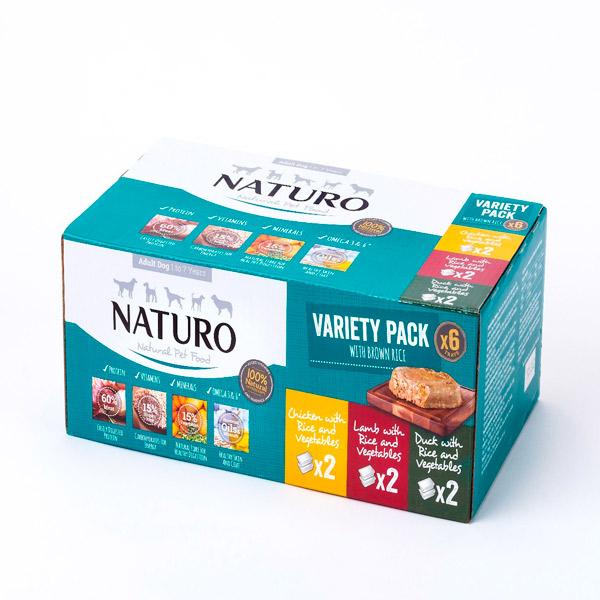 Naturo Dog Multipack (pollo, cordero, pato)