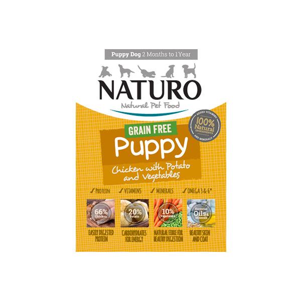 Mascotienda Naturo Puppy Grain Free Chicken&Potato