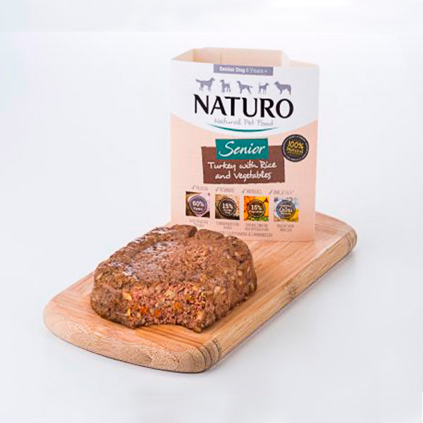 Mascotienda Naturo Senior Turkey&Rice presentacion