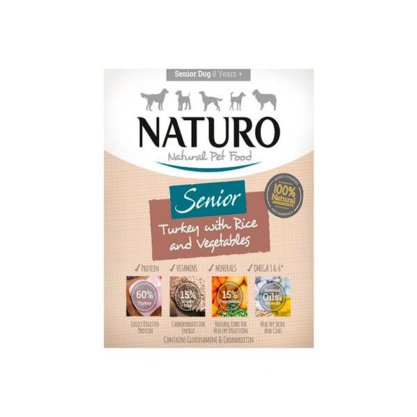 Mascotienda Naturo Senior Turkey&Rice