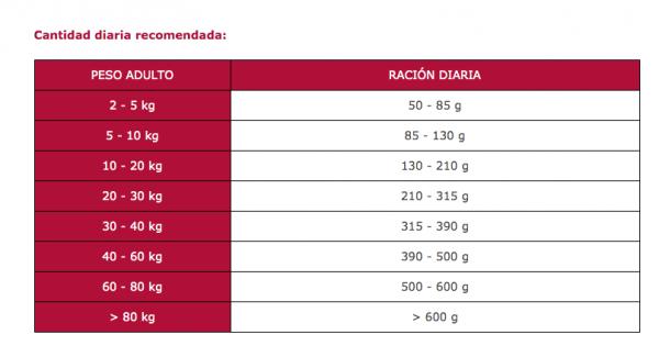 Arion Titanium Fitness cantidad diaria recomendada