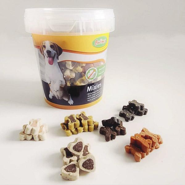 Bubi Mixies tipos snack